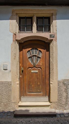 Porte de la maison renaissance
