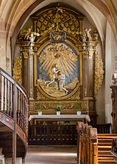 Autel de saint Jean-Baptiste de l'église des Jésuites - Photo of Fessenheim-le-Bas