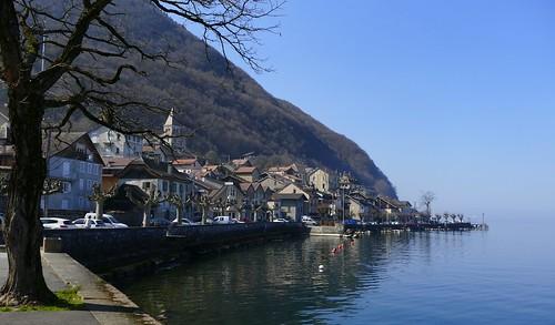 Meillerie, Lac Léman, (Haute Savoie Fr)