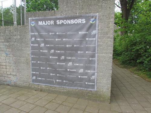 Our Sponsors at Sportpark De Slotbosse Toren -- Oosterhout, The Netherlands, May 26, 2019