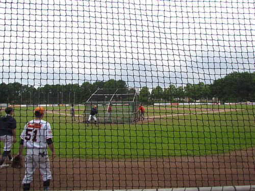 Home to Center at Sportpark De Slotbosse Toren -- Oosterhout, The Netherlands, May 26, 2019