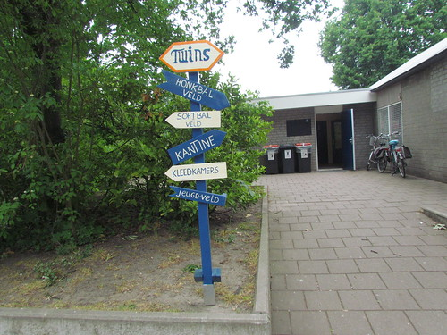 Whimsical Signs at Sportpark De Slotbosse Toren -- Oosterhout, The Netherlands, May 26, 2019