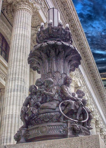 Albany New York ~ New York State Education Department Building ~ Bronze Sculpture  ~ Historic