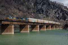 CSX Q227 at Harpers Ferry
