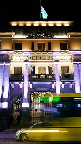 #Note8 #tribunales #noche #nightshoot #courtsofjustice #santafe Argentina #largaexposicion #colectivo #omnibus #bus