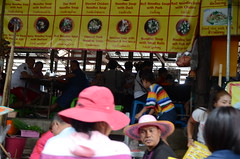 The heart of the floating market-we are not allowed to get off