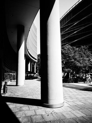 columns in black