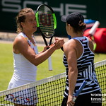 Barbora Strycova, Ashleigh Barty