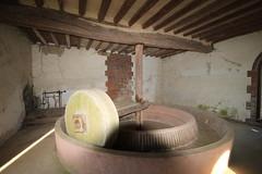 le pressoir à cidre (pomms) du château de Chambray (eure)