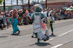 Robot Alien Mermaid