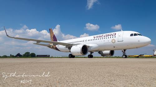 Vistara Airbus A320-2N TF-NEO_VT-NTT