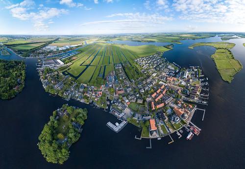 Kaag panoramic // Netherlands