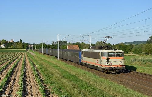 SNCF BB25673, Hochfelden, 17-6-2019 19:52
