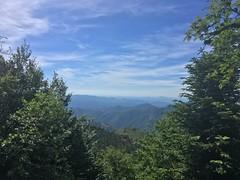 Mont Aigoual: Blick nach Süden