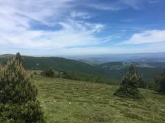 Mont Aigoual: Blick nach Norden