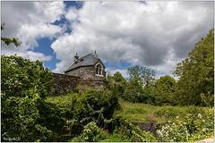 Rochefort-en-Terre; La chapelle du château de Rochefort-en-Terre