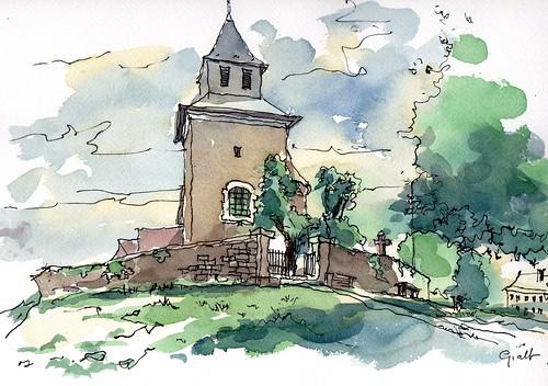 kerkje te Foret nabij Trooz