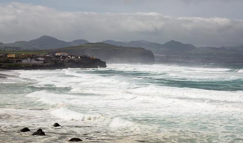 Ribeira Grande and the Sea