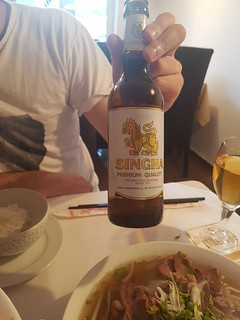 Thailändisches Bier bei Saigon Restaurant