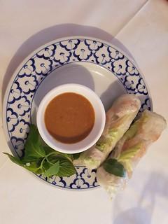 Sommer Rollen mit Soße bei Saigon Restaurant
