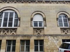 Bordeaux, Gironde: impasse Elvina-Sivan, presbytère de la paroisse Ste Geneviève, vers 1927, architecte R Lamy?