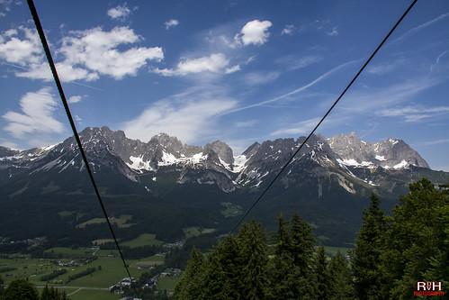 Uitzicht op de Wilder Kaiser