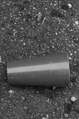 Cup in a carpark