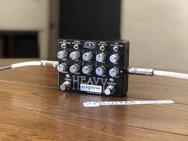 Photo:Empress Effects Heavy Distortion Pedal By GuitarChalk