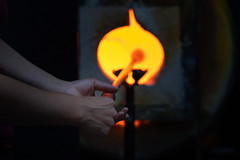 Glassblowing Class at The Crucible - 17
