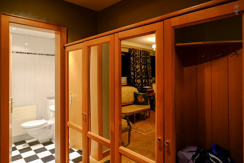 Closet by the entryway