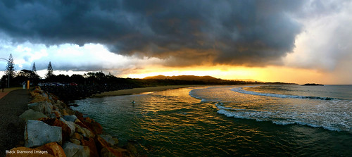 Storm over Park Beach South, Coffs Harbour, NSW