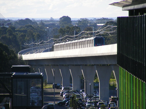 Sydney Metro North West opening 26.5.2019.