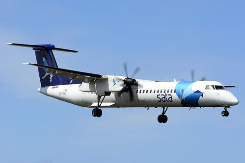 CS-TRE DHC8-402 cn 4295 SATA Air Acores 170701 Lajes Field 1002