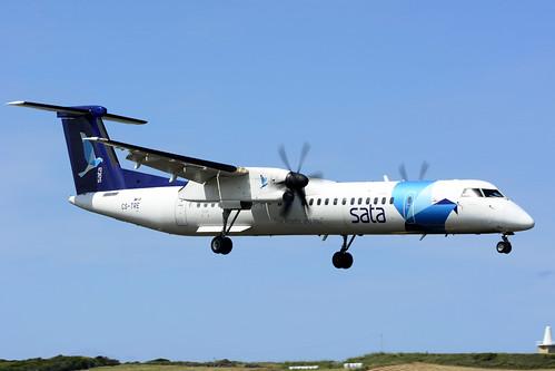 CS-TRE DHC8-402 cn 4295 SATA Air Acores 170701 Lajes Field 1003