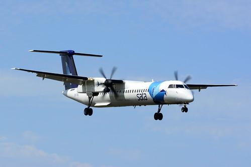 CS-TRE DHC8-402 cn 4295 SATA Air Acores 170701 Lajes Field 1001