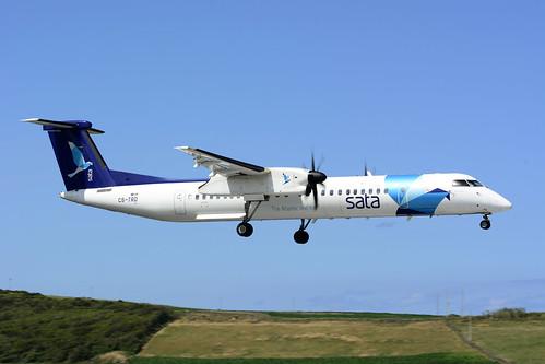 CS-TRD DHC8-402 cn 4291 SATA Air Acores 170701 Lajes Field 1002