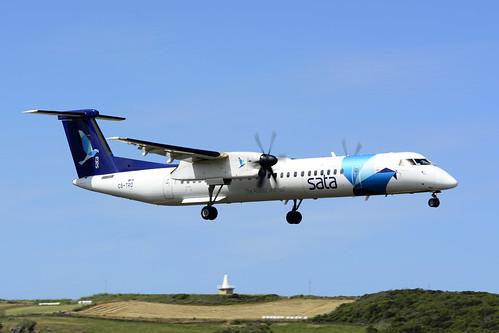 CS-TRD DHC8-402 cn 4291 SATA Air Acores 170701 Lajes Field 1001