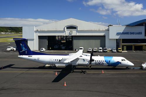 CS-TRF DHC8-402 cn 4297 SATA Air Acores 170705 Lajes Field