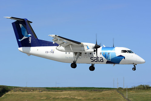CS-TRB DHC8-202 cn 476 SATA Air Acores 170701 Lajes Field 1002