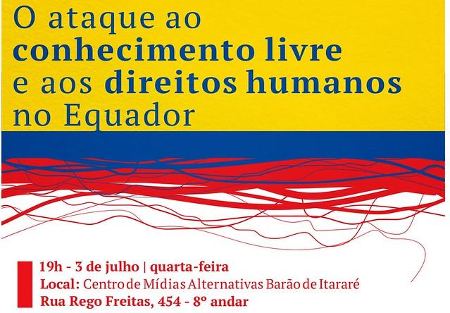 Evento em São Paulo discutirá privacidade nas redes e prisão de ativista Ola Bini