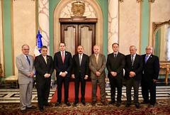 VIDEO:Comerciantes e Industriales de Santiago visitan a Danilo Medina. Agradecen políticas públicas en favor de la gente de esa provincia