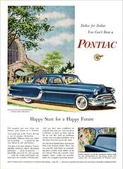1954 Pontiac Star Chief De Luxe Four Door Sedan