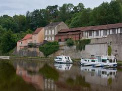 Le canal à Clamecy