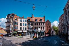 Ensemble de bâtiment dans le Vieux Lille - Photo of Lille