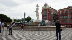 Fontaine du Soleil,  Place Massena  Nice France(05) - Photo of Nice