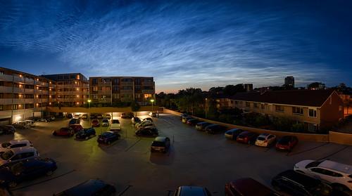 Noctilucent clouds (Lichtende nachtwolken)