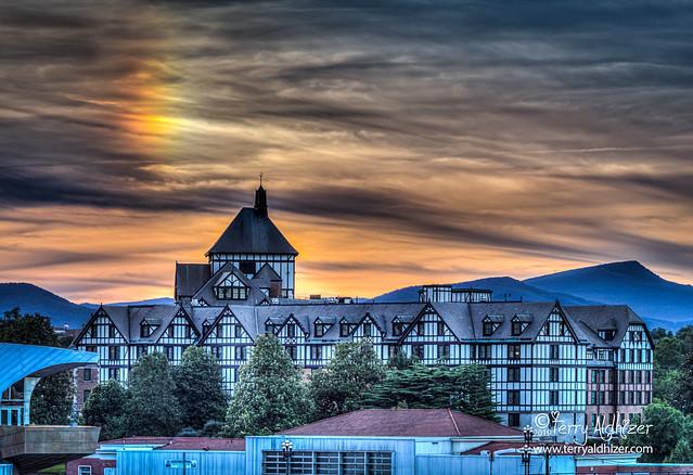Hotel Roanoke Summer Sundog Sunset