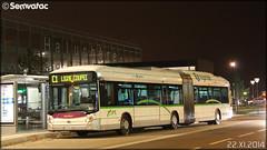 Heuliez Bus GX 427 hybrid - Semitan (Société d'Économie MIxte des Transports en commun de l'Agglomération Nantaise) / TAN (Transports en commun de l'Agglomération Nantaise) n°801 - Photo of Nantes