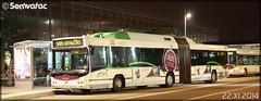Volvo 7000 A GNV - Semitan (Société d'Économie MIxte des Transports en commun de l'Agglomération Nantaise) / TAN (Transports en commun de l'Agglomération Nantaise) n°239 - Photo of Nantes