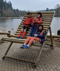 Deckchair By The Lake
